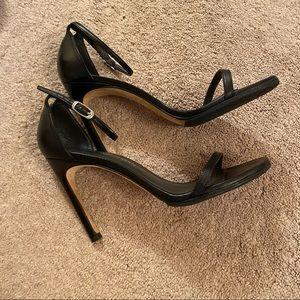 Black Stuart Weitzman Sandal Heels
